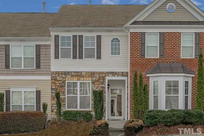 Raleigh Townhouse For Sale: 2822 Corbett Grove Drive