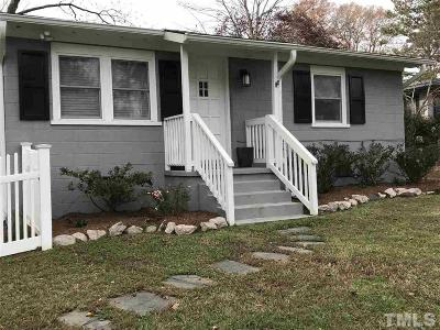 Cary Rental For Rent: 316 Keener Street