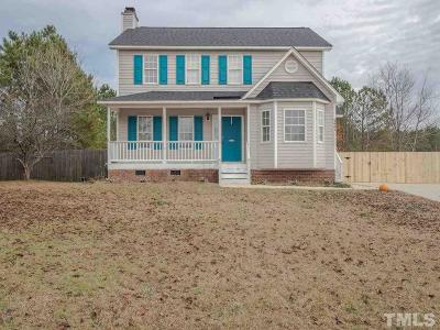 Clayton Single Family Home For Sale: 3401 Deer Trace Lane