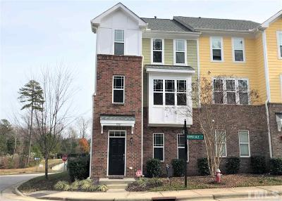 Cary Townhouse For Sale: 932 Morris Dale Lane