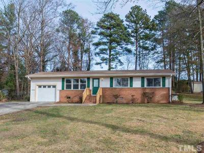 Durham Single Family Home Contingent: 2809 Nc 55 Highway