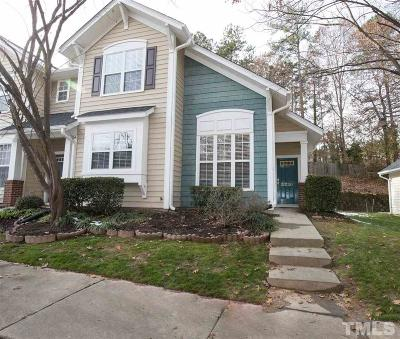 Raleigh Townhouse For Sale: 2220 Plum Frost Drive