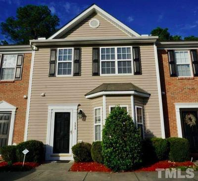 Raleigh Townhouse For Sale: 508 Huron Road