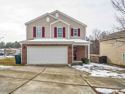 Durham NC Single Family Home For Sale: $225,000