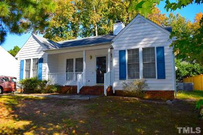 Raleigh NC Single Family Home For Sale: $159,900