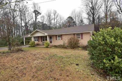 Sampson County Single Family Home Pending: 1766 McPhail Road