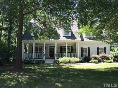 Cary Single Family Home Contingent: 107 W Jules Verne Way