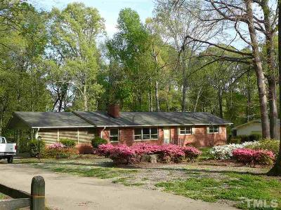 Cary Single Family Home For Sale: 1235 Fairlane Road
