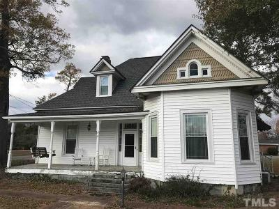 Johnston County Single Family Home For Sale: 106 N Railroad Street West