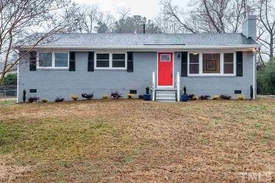 Raleigh NC Single Family Home For Sale: $224,900