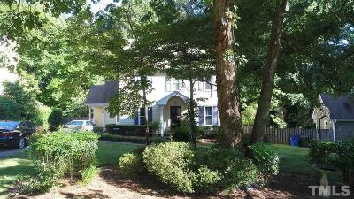Raleigh Single Family Home For Sale: 7520 Milestone Court