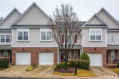 Wake County Townhouse For Sale: 11144 Slider Drive