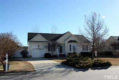 Wendell Single Family Home Contingent: 631 Landing View Drive