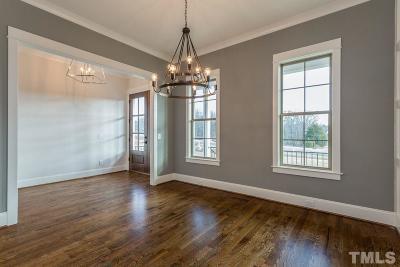 Chapel Hill Single Family Home For Sale: 1009 Mocker Nut Lane #Lot 9