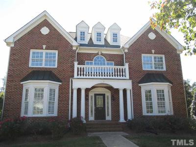 Cary Rental For Rent: 115 Rozelle Valley Lane