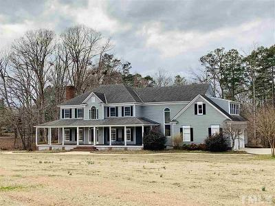 Angier Single Family Home Contingent: 231 Green Level Drive