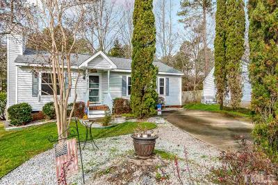 Holly Springs Single Family Home Contingent: 104 Cabrita Court