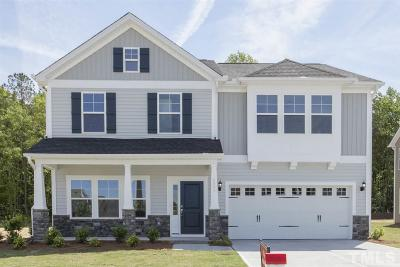 Knightdale Single Family Home For Sale: 4901 Sleepy Falls Run #Lot 34