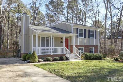 Cary Single Family Home Contingent: 1705 Burnley Drive