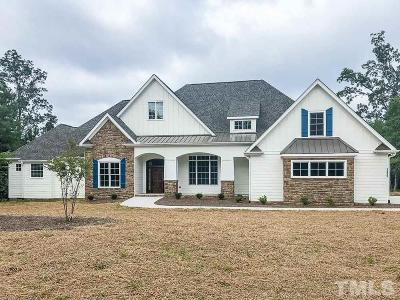 Chatham County Single Family Home For Sale: 100 Eagles Crest