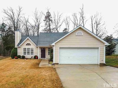 Holly Springs Single Family Home Contingent: 205 Hornholly Way