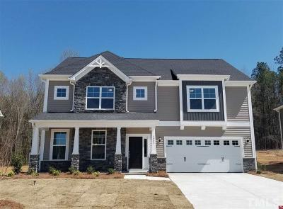 Knightdale Single Family Home For Sale: 4903 Sleepy Falls Run #Lot 33