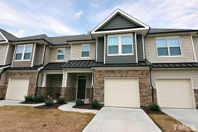 Raleigh Townhouse For Sale: 7806 Honeysuckle Bend Drive