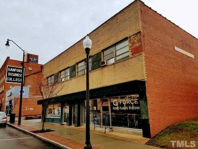 Lee County Commercial Pending: 221 Carthage Street