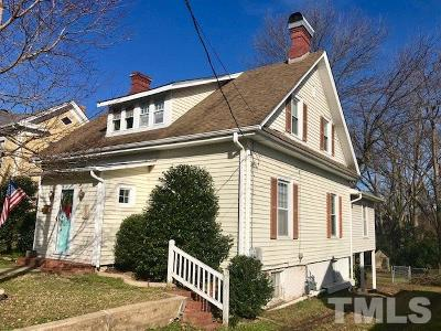 Oxford Single Family Home For Sale: 207 Gilliam Street