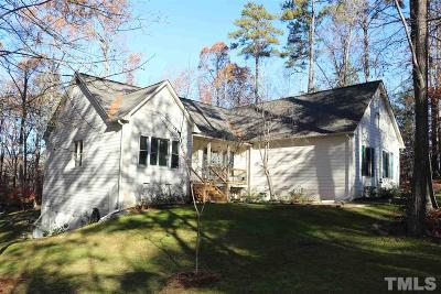 Chapel Hill Single Family Home Contingent: 203 Stonehill Road