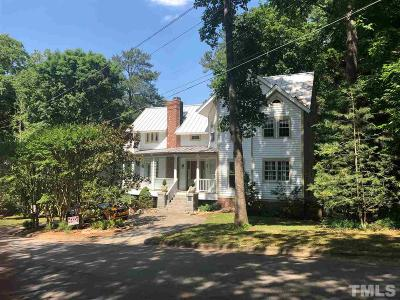 Raleigh Single Family Home For Sale: 724 Rosemont Avenue