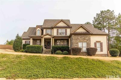 Wake Forest Single Family Home For Sale: 8440 Mangum Hollow Drive