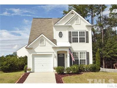 Fuquay Varina Single Family Home Contingent: 205 N Weststone Boulevard