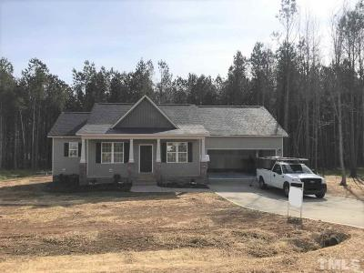 Zebulon Single Family Home For Sale: 75 Connelly Way