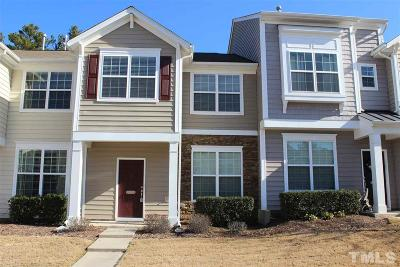 Morrisville Townhouse Contingent: 1304 Grace Point Road