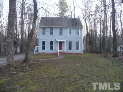Hillsborough Single Family Home For Sale: 114 Bonaparte Drive