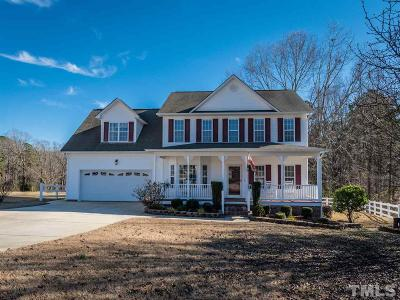 Willow Spring(S) Single Family Home Pending: 66 Silver Stirrup Court