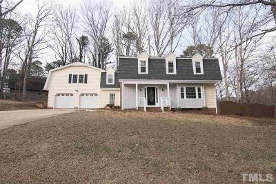 Cary Single Family Home For Sale: 1208 Kirkwall Place