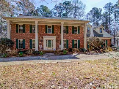 Raleigh Single Family Home For Sale: 8704 Stage Ford Road