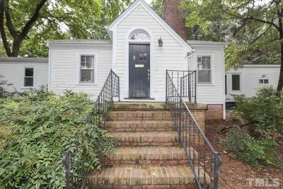Wake County Single Family Home Pending: 323 Furches Street