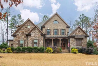 Wake Forest Single Family Home For Sale: 1329 Eagleson Lane