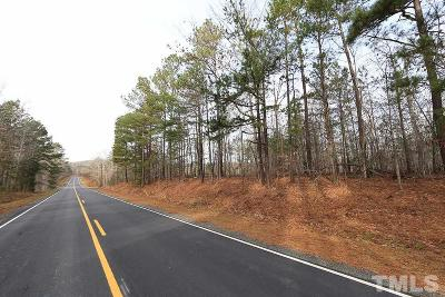 Granville County Residential Lots & Land For Sale: Enon Road