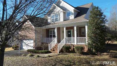 Durham Single Family Home Contingent: 1604 Carnation Drive