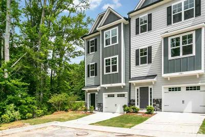 Apex Townhouse For Sale: 1381 Regents Lane