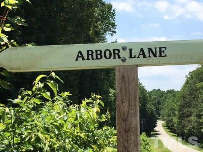 Orange County Residential Lots & Land For Sale: Lot 9 Arbor Lane