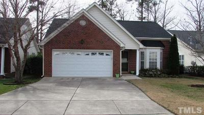 Morrisville Single Family Home Contingent: 303 Millet Drive