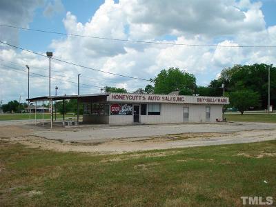 Harnett County Commercial For Sale: 174 N McKinley Street