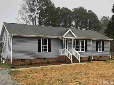Apex Single Family Home Contingent: 8565 Bells Lake Road