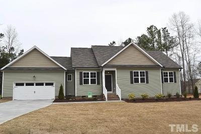Zebulon Single Family Home For Sale: 99 Soaring Eagle Trail
