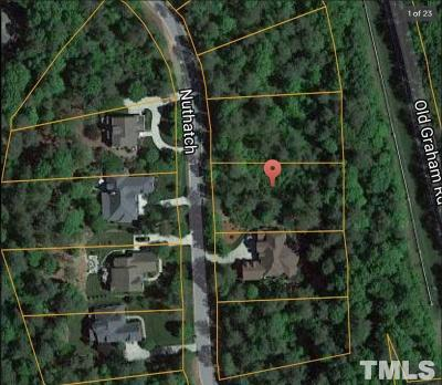 Chatham County Residential Lots & Land For Sale: 67 Nuthatch Drive